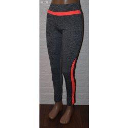 Alakformáló Rugalmas Rózsaszín Sport Leggings  S/M-es